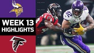 Vikings vs. Falcons   NFL Week 13 Game Highlights