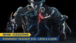 MHW: Iceborne - Leon & Claire(FR)