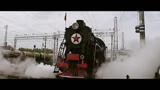 Паровоз Л. Станция Пермь-2 (9 мая 2012) Steam Locomotive
