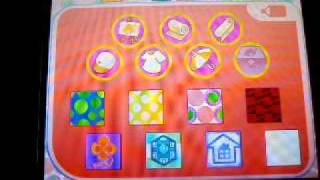 How To Change Menu Pattern On Animal Crossing Wild World