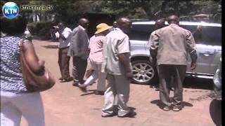 Michuki's Body At Lee Funeral Home