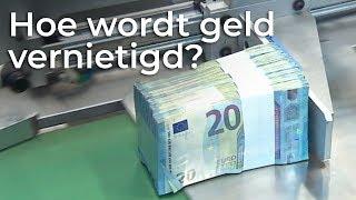 Hoe Wordt Geld Vernietigd? | Doen Ze Dat Zo | Het Klokhuis