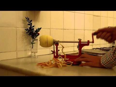 pelador de manzanas