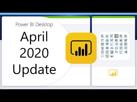 Power BI Desktop April 2020 Feature Summary