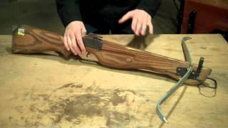 Building/ Restoring a Crossbow Part 1