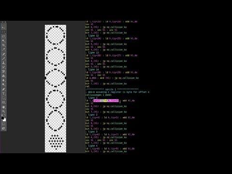 Création d'un jeu vidéo sur GX4000 – Épisode 08/13