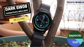 Dark SW08 Akıllı Saat İncelemesi – Uygun Fiyatlı Android İOS Uyumlu