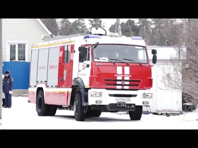 Опасные дома находят пожарные в Ангарске
