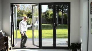 Origin 4 Door Aluminium Bifold Doors