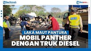 Mobil Panther VS Truk di Tuban, 1 Meninggal Dunia, Diduga Sopir Panther Mengantuk