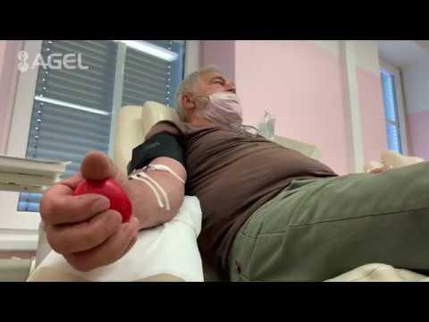 Video: Transfúzní stanice v Šumperku poděkovala dárcům krve
