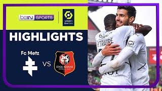 Metz 0-3 Rennes Pekan 10