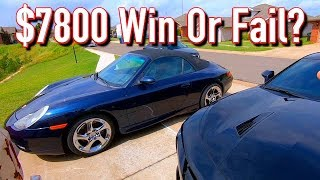 Cheap Copart $7100 Porsche 911 996 Carrera - Big Win or Big Fail?
