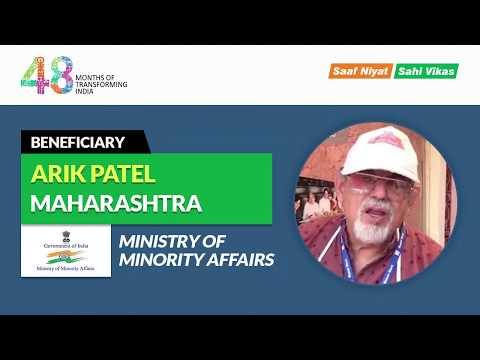 We get this stall at Hunar Haat to showcase our skill – Arik Patel, Maharashtra