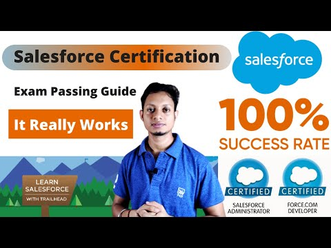 Salesforce Certification Exam Passing Guide   How to get ... - YouTube