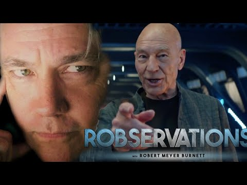 WHAT IS STAR TREK: PICARD ABOUT AND WHO REALLY CREATED IT? - ROBSERVATIONS Live Chat #178
