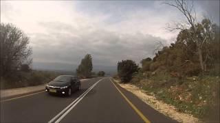 preview picture of video 'כביש 99 מצומת מסעדה לצומת המצודות - Road 99 from Mas'ada Junction to HaMezudut Junction'