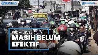 Perpanjangan PPKM Level 4, Mobilitas di Pos penyekatan Jakarta Timur Masih Tinggi