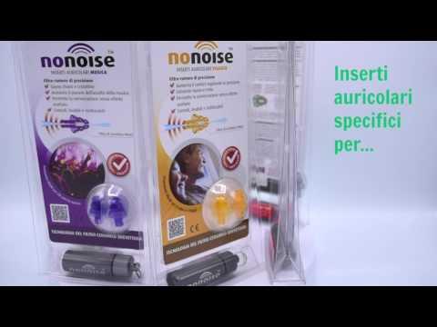 Nonoise inserti auricolari di nuova generazione (tappi orecchie)-Proteggi il tuo udito!