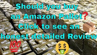 eBay items from Amazon Return Pallets? Detailed review you decide! Pallet buying for eBay! #131