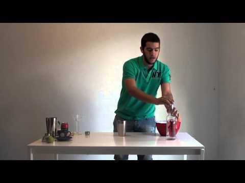 Συνταγή - mojito martini cocktail - Πως να φτιάξετε μόνοι σας ένα mojito martini cocktail, by Stef Vlout