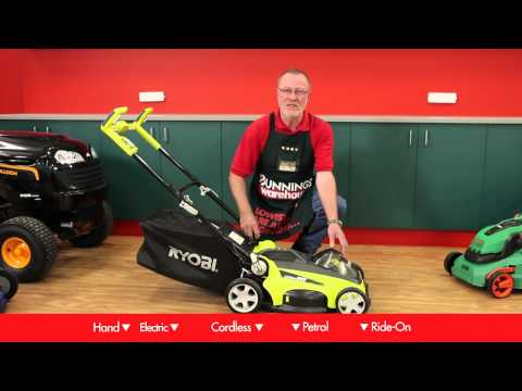 How To Choose A Lawn Mower – DIY At Bunnings