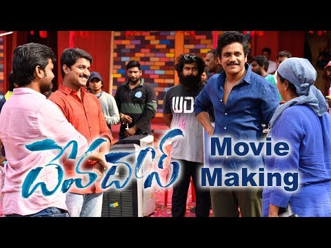 Devadas Movie Making Video