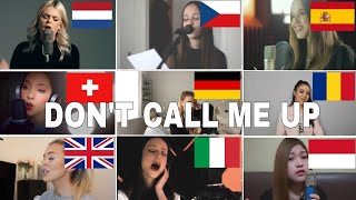 Who Sang It Better : Don't Call Me Up   Mabel (uk,italy,romania,czech,spain)