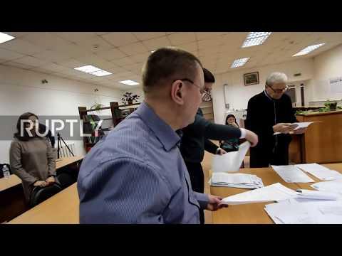 Russia: Vote count begins as voting ends in Irkutsk