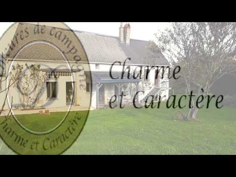 In quiet hamlet between Sancerre and Bourges, 1866 home perfectly restored with superb views.