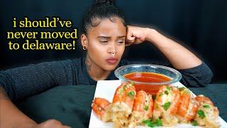 MASSIVE SHRIMP SEAFOOD BOIL MUKBANG + I SHOULD