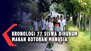 Kronologi 77 Siswa di NTT Dihukum Makan Kotoran Manusia