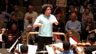 Gustavo Dudamel, Orquesta Simón Bolívar: Ensayo del Concierto para Orquesta de Bela Bartok