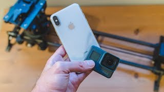 iPhone X vs GoPro Hero 6: 4K 60FPS Comparison