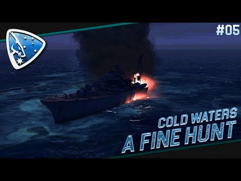 Cold Waters 1968 #05: A fine hunt | Submarine Simulation