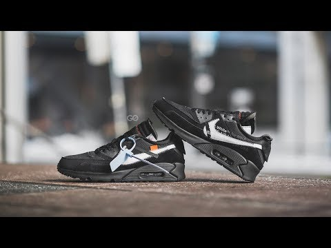 "Off-White x Nike Air Max 90 ""Black / White"": Review & On-Feet"