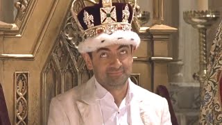 New King of England   Johnny English   Funny Clip   Mr Bean Official