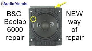Bang & Olufsen Beolab 6000 Simple Speaker Repair Surrounds In EN/DE/NL