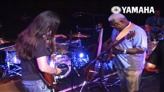 Berklee & Yamaha Valencia Concert - Ensayos Laboriel Sambeat Mendoza Paez Salan Mena Reija