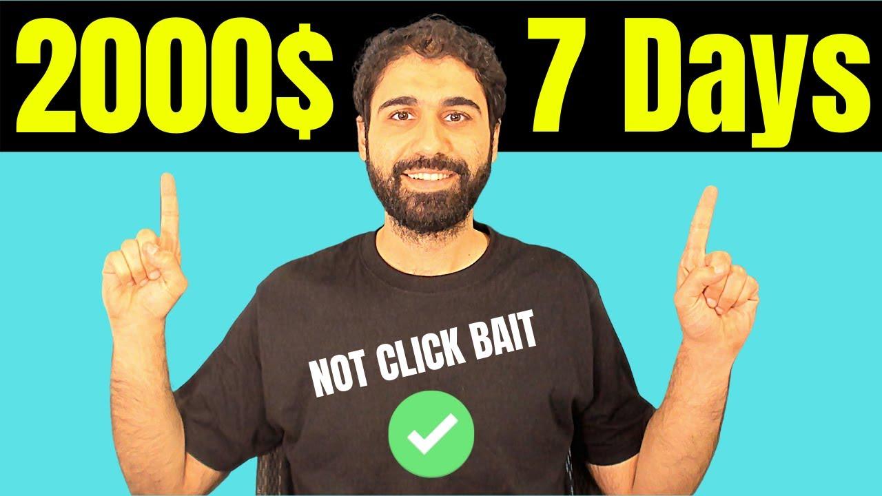 (2000$/ Week) How I Earn Money Online in 2021 - START NOW thumbnail