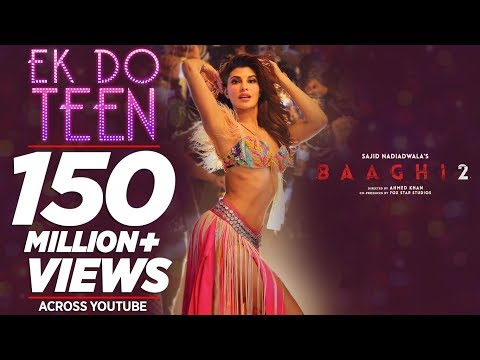 Download Baaghi 2: Ek Do Teen Song | Jacqueline Fernandez |Tiger Shroff | Disha P| Ahmed K | Sajid Nadiadwala HD Mp4 3GP Video and MP3