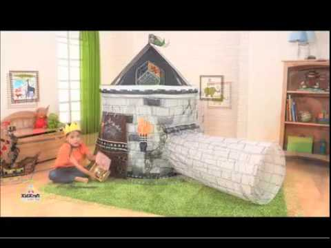 Kidkraft 00215 tenda castello con tunnel