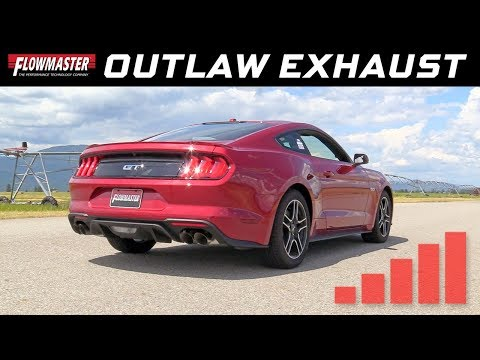2018-19 Ford Mustang GT 5.0L - Outlaw Axle-back Exhaust System 817821