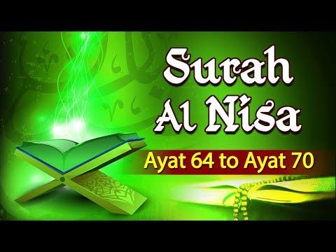 Tafseer-e-Quran | Surah Al-Nisa | Ayat 64 To 70 | Maulana Khalid Saifullah | Shemaroo Ibaadat