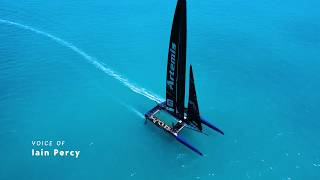 Artemis Technologies: AC50 catamaran will do 20mph SOG against a 10mph tide in zero wind?