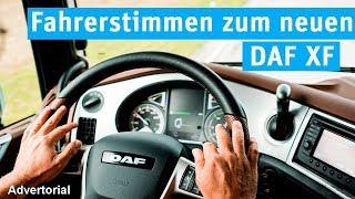 Fahrerstimmen zum neuen DAF XF