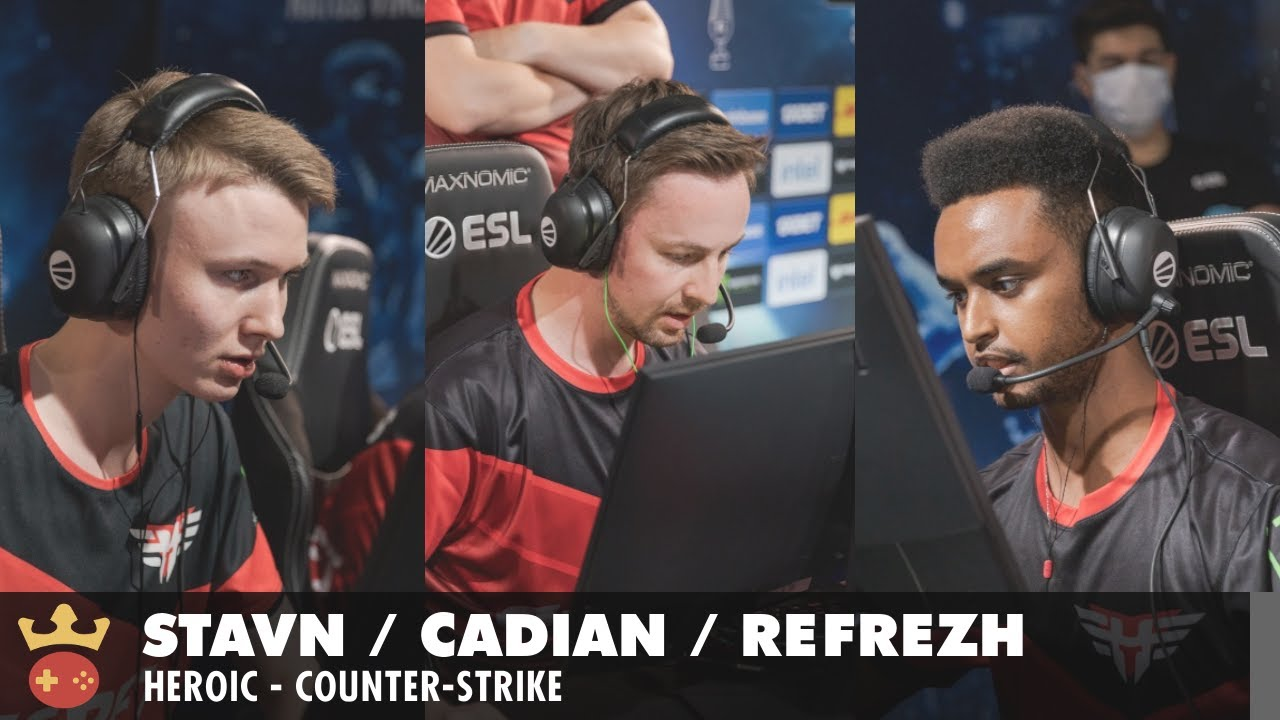 Video of Interview with stavn, cadiaN & refrezh from Heroic at ESL Pro League Season 14