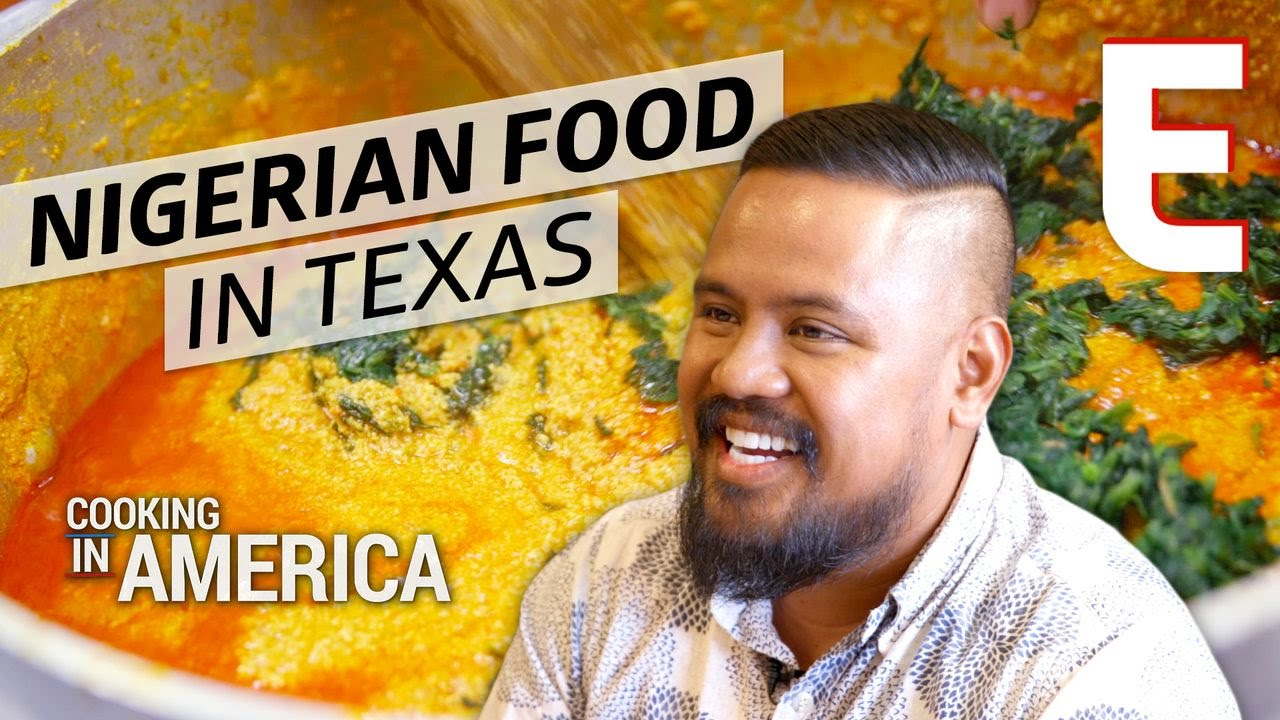Pounded Yam and Traditional Nigerian Food at Cafe Abuja — Cooking in America Houston thumbnail
