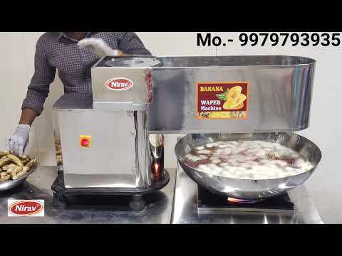 Banana Potato Chips Making Machine
