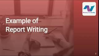 Report Writing   Business Writing   Writing Skills   Example   Free tutorial